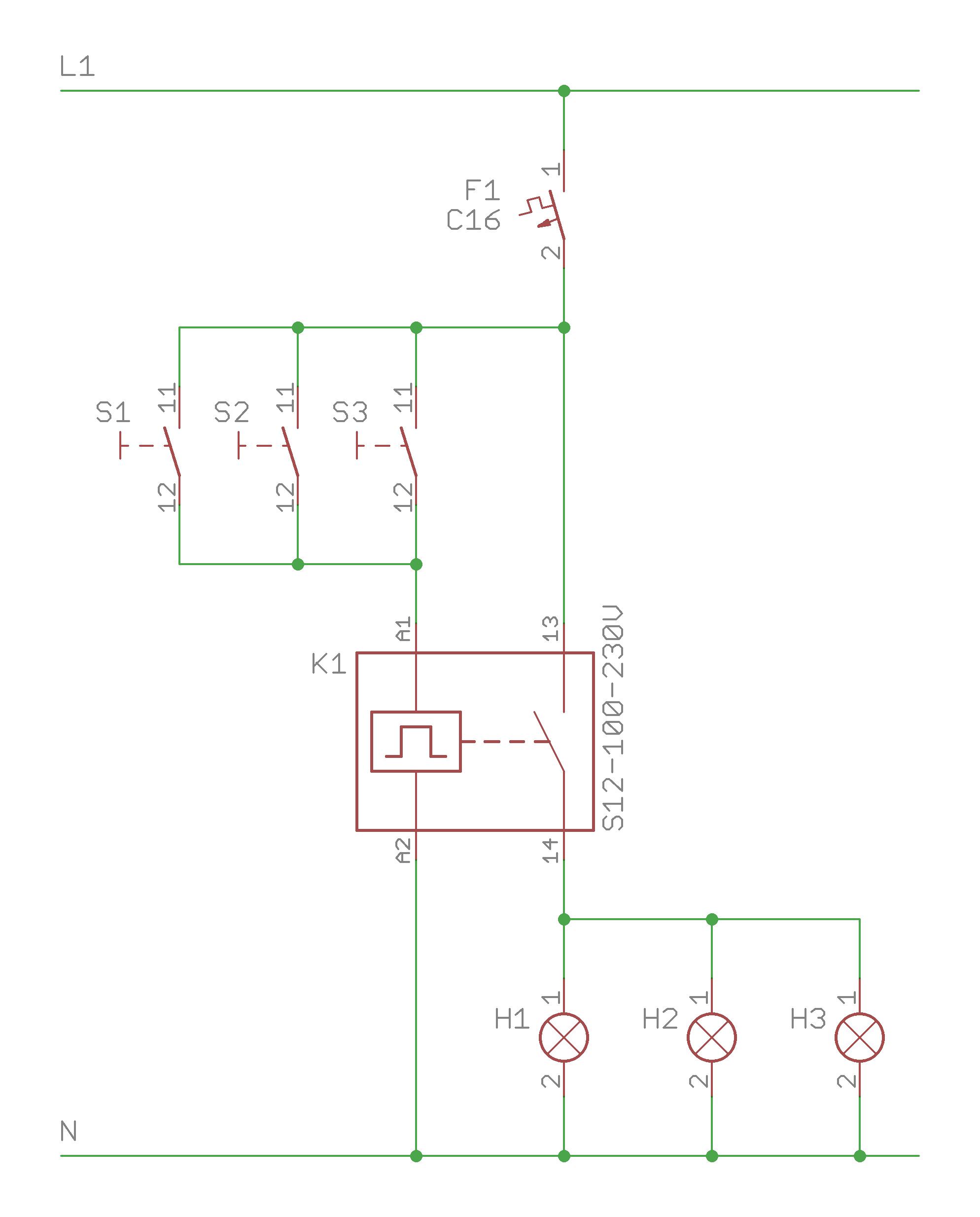 Fein Drei Wege Schalter Schaltplan Bilder - Schaltplan Serie Circuit ...